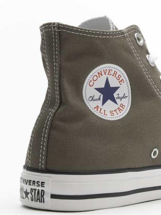 Converse Sneaker Chuck Taylor All Star Seasonal High grau