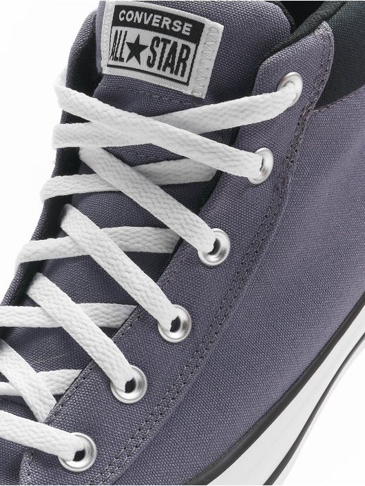 Converse Sneaker Chuck Taylor All Stars Street Mid Light grigio