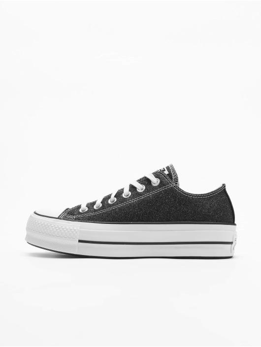 Converse Sneaker Chuck Taylor All Star Lift Glitter nero