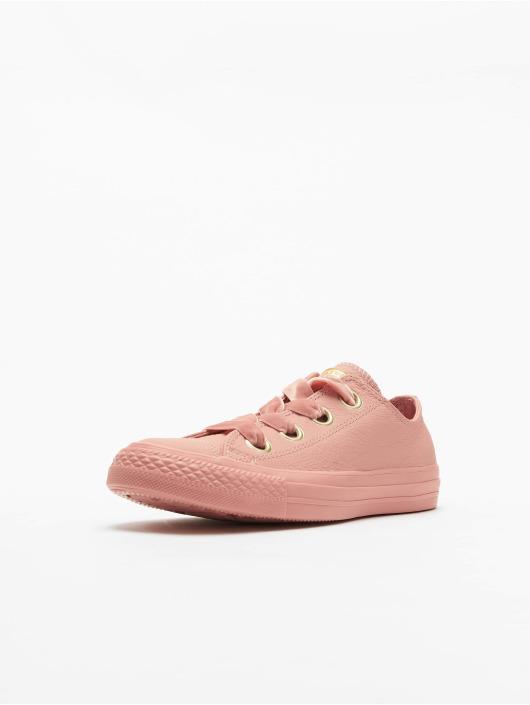 Converse Chuck Taylor All Star Big Eyelets Ox Sneakers Rust PinkRust PinkGolden
