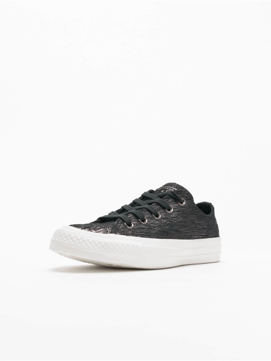 Converse Chuck Taylor All Star Ox Sneakers Black/Metallic Black/Egret