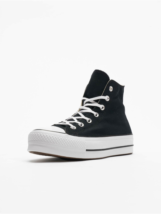 Converse Chuck Taylor All Star Lift Hi Sneakers BlackWhiteWhite