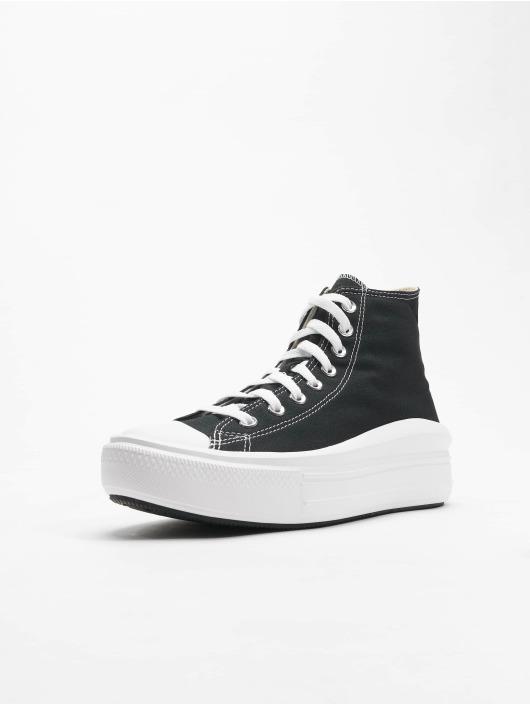 Converse Sneaker Chuck Taylor All Stars Move High schwarz