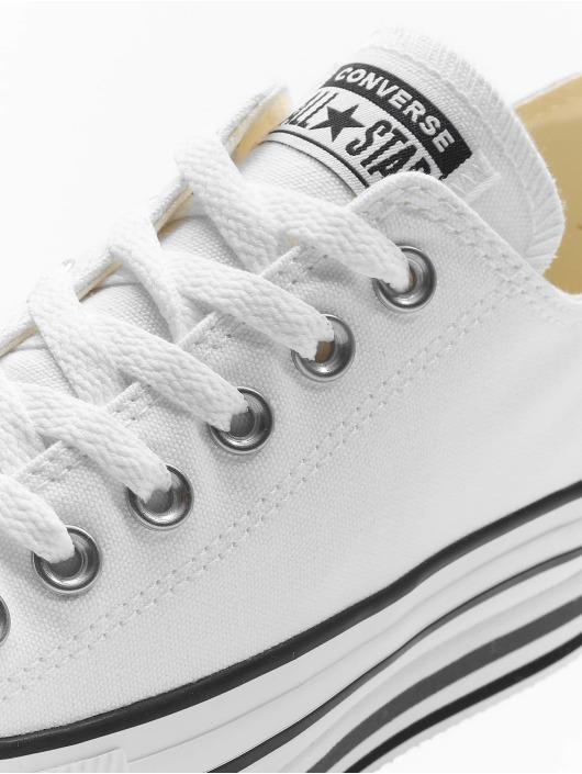 Converse Sneaker Chuck Taylor All Star Platform Layer Ox weiß