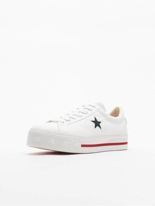 Converse sneaker One Star Platform Ox wit