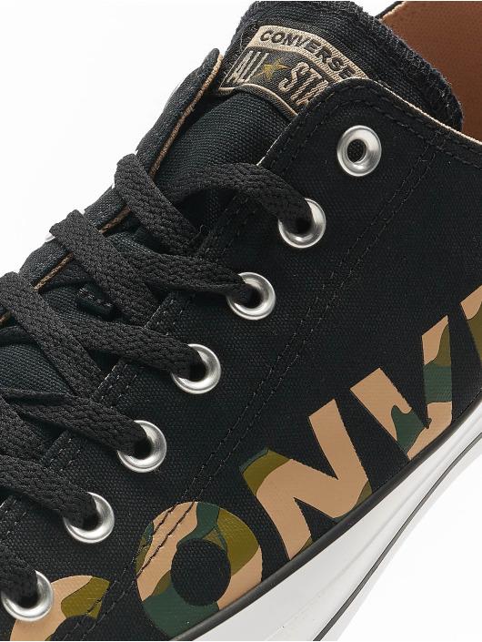 Converse Sneakers Chuck Taylor All Star Canvas Wordmark èierna