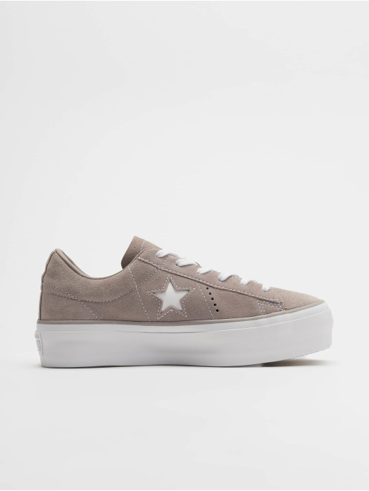 Converse Sneakers One Star Platform Ox šedá