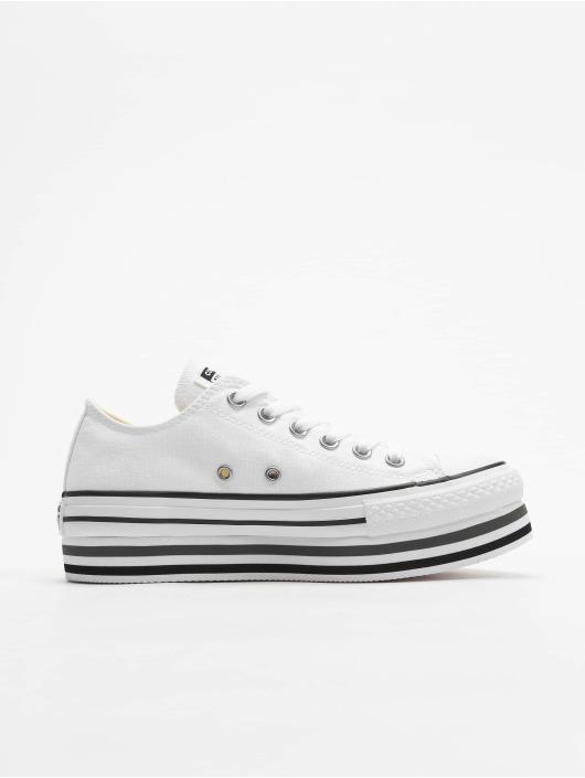 Converse Sneakers Chuck Taylor All Star Platform Layer Ox biela