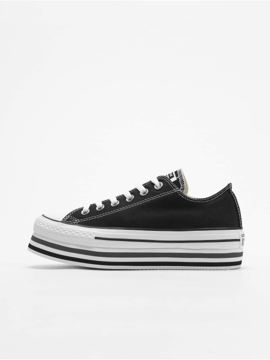 Converse Sneakers Chuck Taylor All Star Platform Layer Ox black