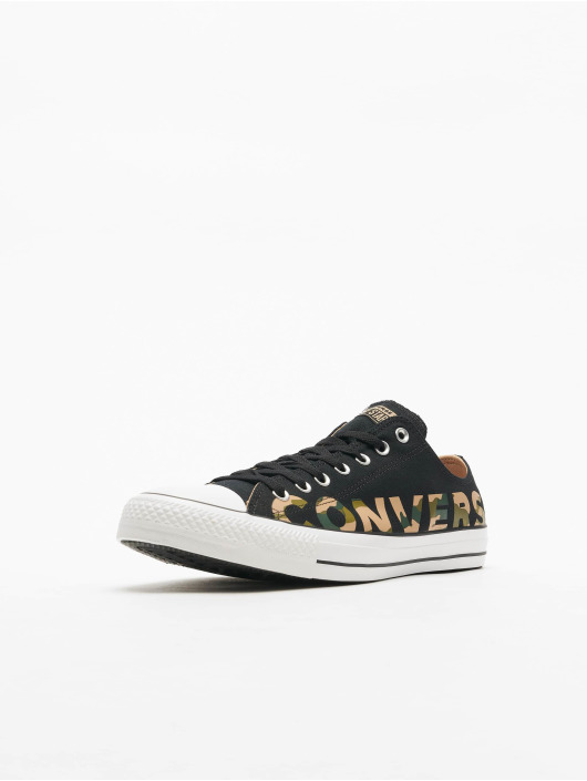 Converse Sneakers Chuck Taylor All Star Canvas Wordmark czarny