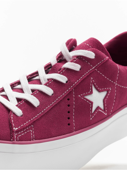 Converse Sneakers One Star Platform Ox pink