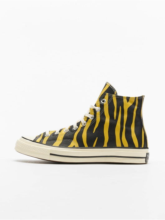 Converse Sneakers Chuck 70 Archive Print Leather yellow
