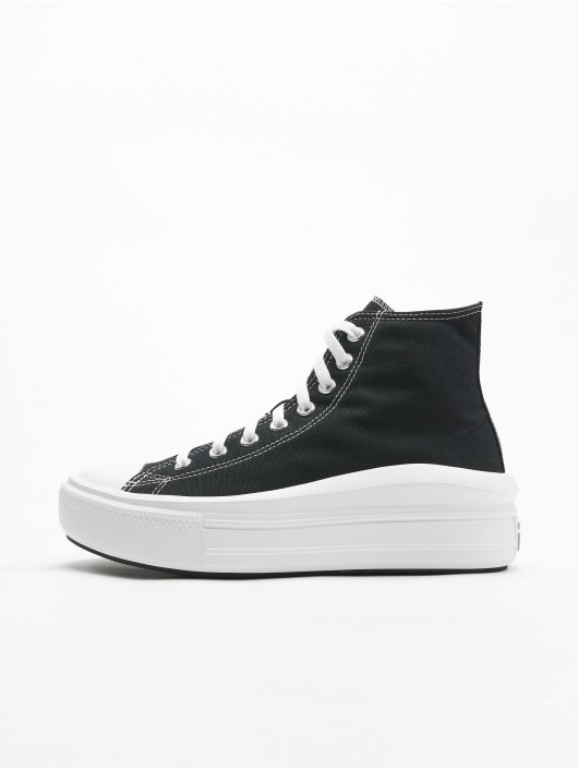 Converse Snejkry Chuck Taylor All Stars Move High čern