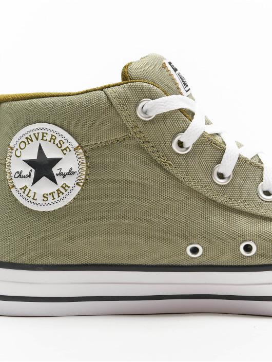 Converse Snejkry Chuck Taylor All Stars Street Mid hnědožlutý