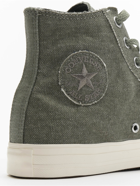 Converse Tøysko Chuck Tailor All Star Hi grå
