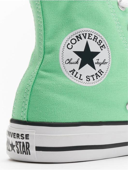 Converse Tøysko Chuck Tailor All Star Hi grøn
