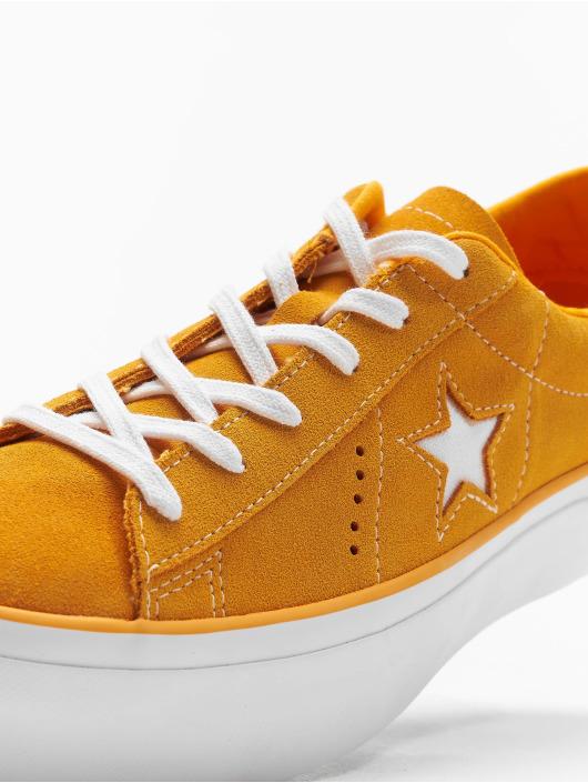 Converse Tøysko One Star Platform Ox oransje