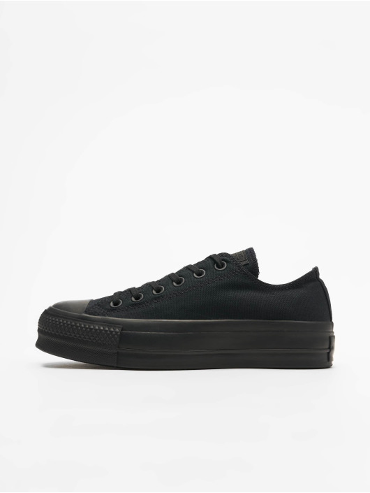 Converse Tøysko Chuck Taylor All Star Clean Lift Ox svart