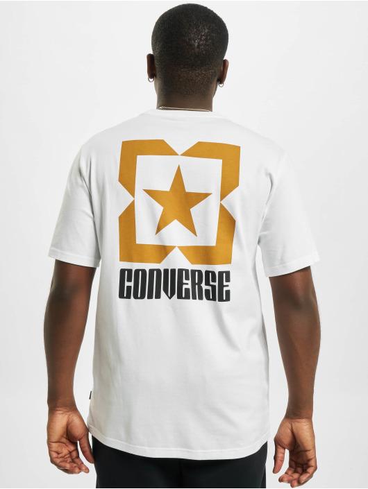 Converse T-paidat Star Chevron Box valkoinen