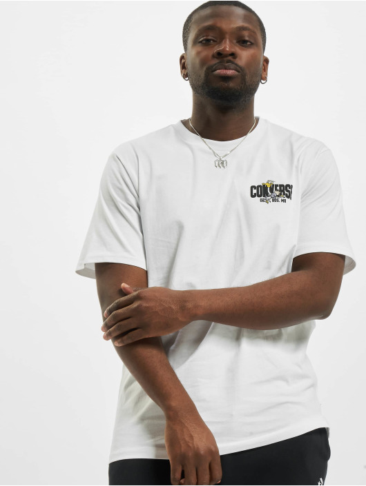 Converse T-paidat Keep Moving valkoinen