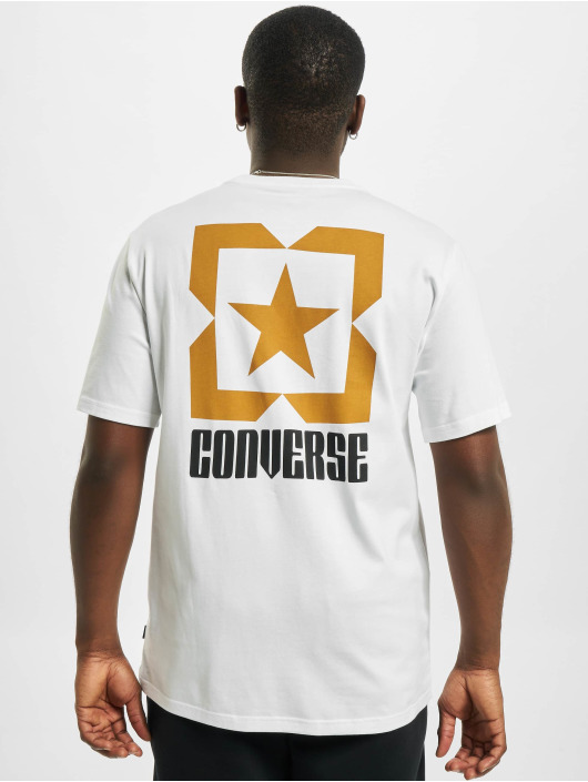 Converse T-shirt Star Chevron Box bianco