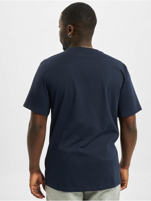 Converse T-shirt Embroidered SC Left Chest blå