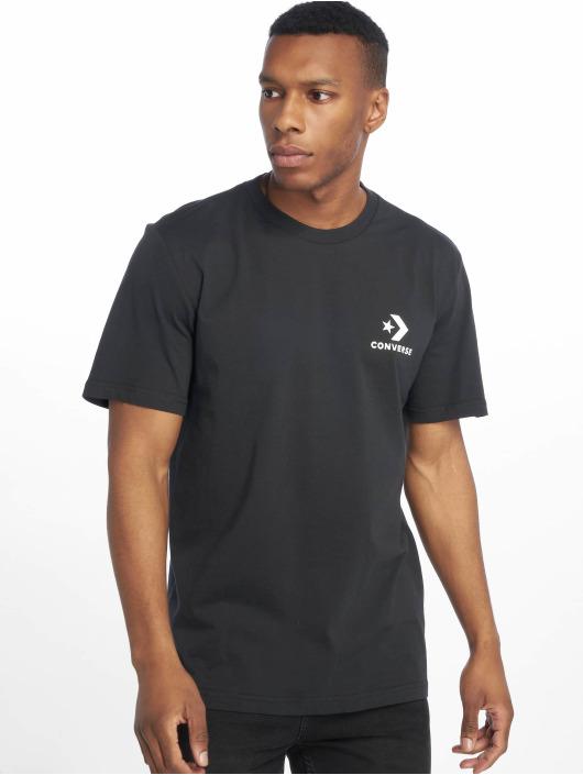 Converse T-Shirt Left Chest Star Chevron black