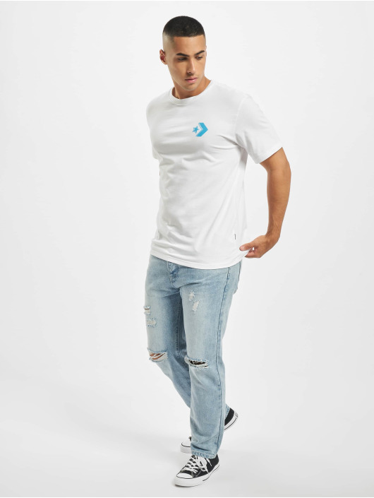 Converse T-Shirt We Are Watching blanc