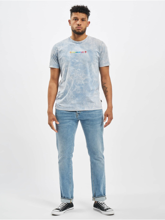 Converse T-Shirt SS Crew Treat blau