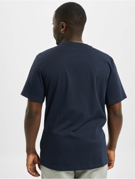 Converse T-Shirt Embroidered SC Left Chest blau