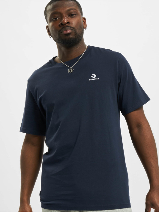 Converse T-Shirt Embroidered SC Left Chest bleu