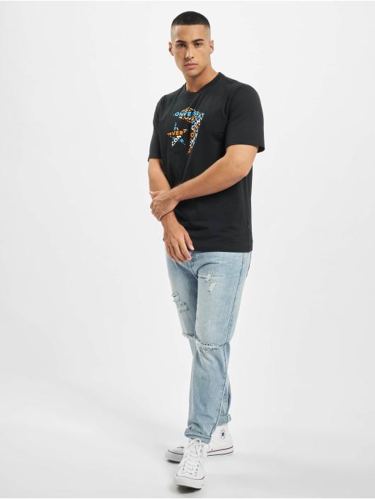 Converse T-Shirt Tri Fill noir