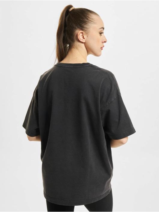 Converse T-Shirt Vintage Wash Heart Infill noir