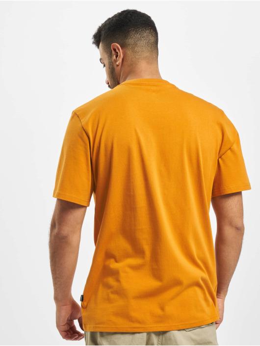 Converse T-Shirt Embroidered SC Left Chest orange