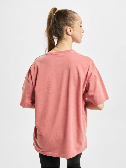 Converse T-shirt Vintage Wash Heart Infill rosa