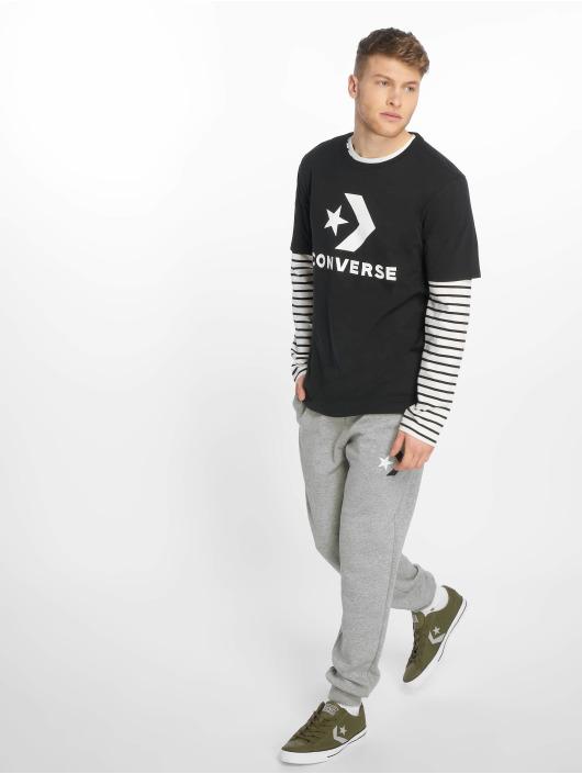 Converse T-Shirt Star Chevron schwarz