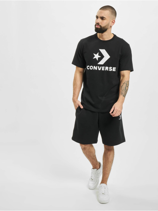 Converse T-Shirt Chevron schwarz