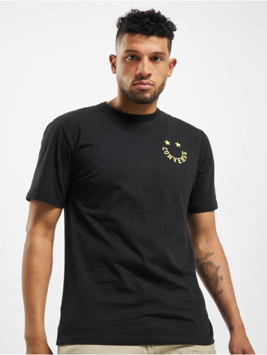 Converse T-Shirt Smiley schwarz