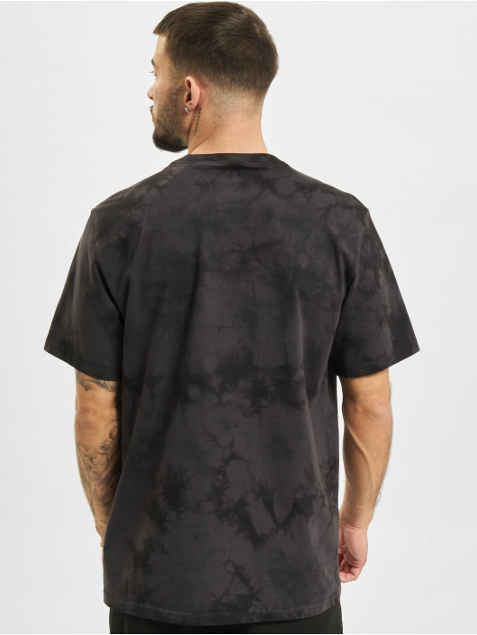 Converse T-shirt Marble Cut And Sew svart