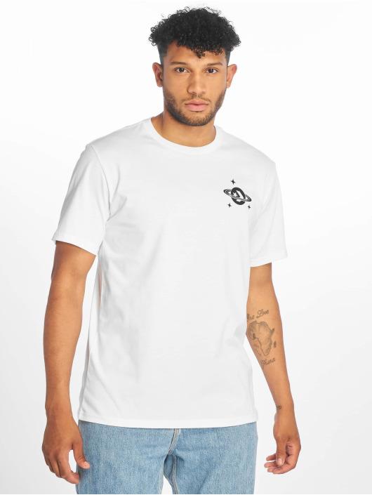 Converse T-shirt Planet Hoop vit