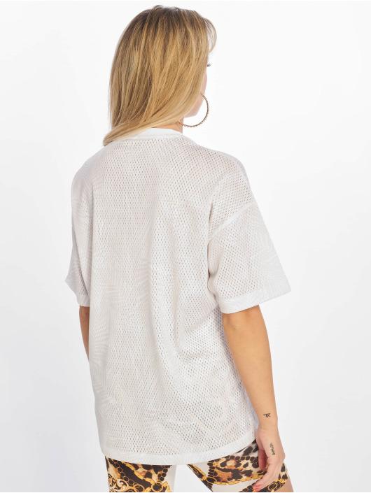 Converse T-Shirt Palm Tree Stripes Boxy weiß
