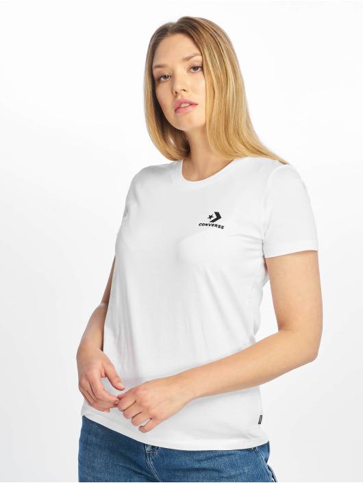 Converse T-Shirt Chevron Left Logo weiß