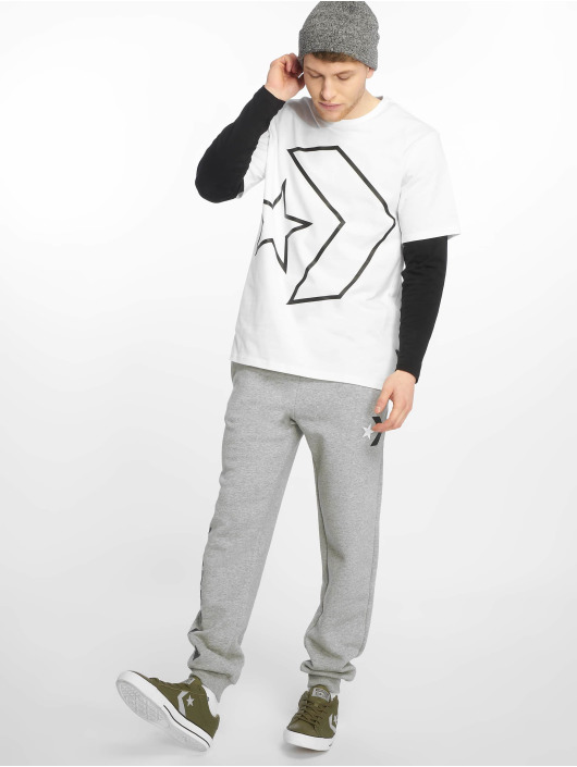 Converse T-Shirt Tilted Star Chevron white