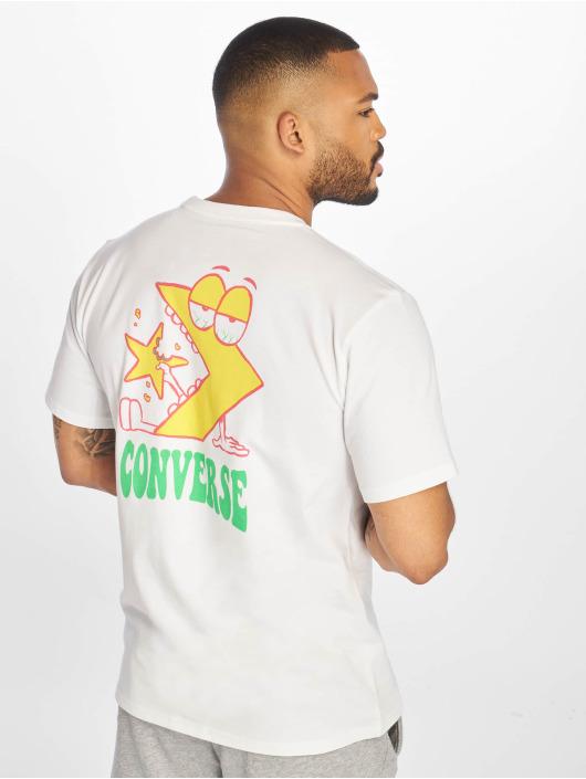 Converse T-Shirt Munchy Star Chevron white