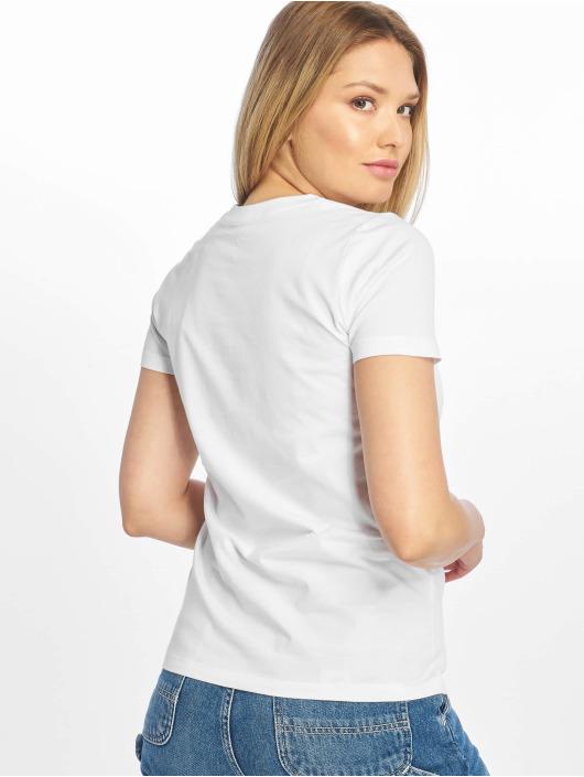 Converse t-shirt Chevron Left Logo wit
