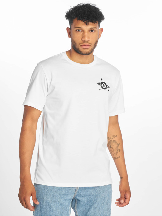 Converse t-shirt Planet Hoop wit