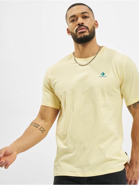 Converse T-Shirt Chevron Left Chest yellow