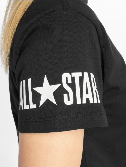 Converse t-shirt All Star zwart