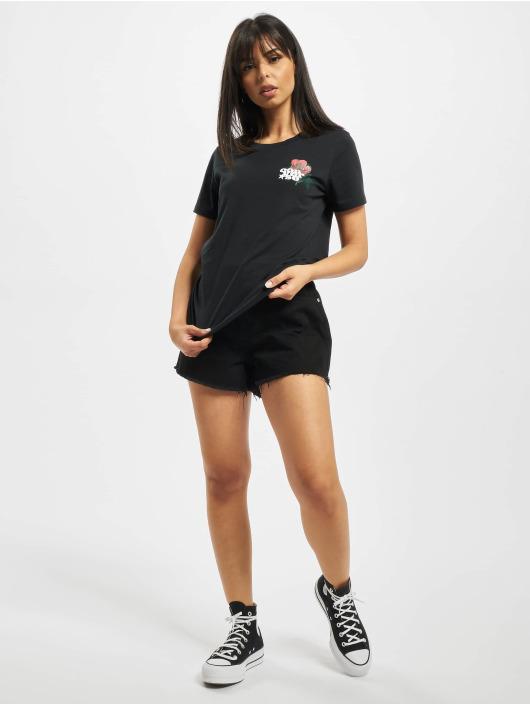 Converse t-shirt Romance Classic zwart