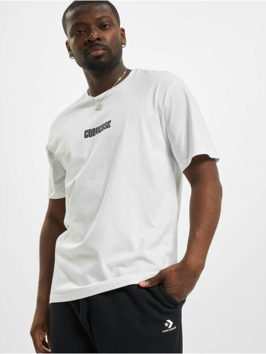 Converse T-shirts Star Chevron Box hvid